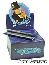Smoking Blue King Size Feuilles - 50 x #0