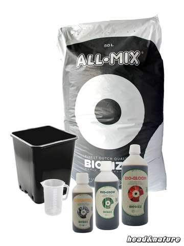 BioBizz terre - set engrais - All Mix