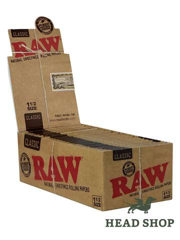 RAW Papers 1 1/2 - 25 x
