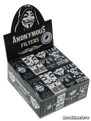 Anonymous Filtertips - 40 x