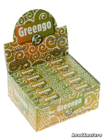 Greengo Filter Tips - 50x