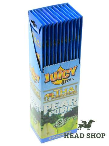 "12 x Juicy Jays encens ""Pear"""