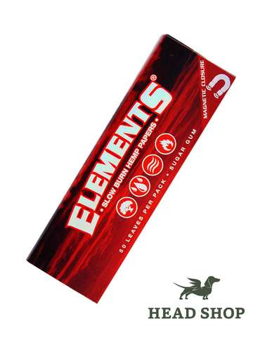 Elements RED 1 ¼  Feuilles Chanvre