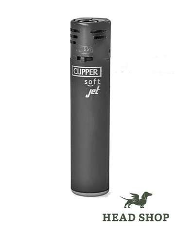 Clipper Jet Flame Soft Touch noir